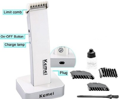 Kemei KM-619A KM-619A Trimmer For Men (Black, White)