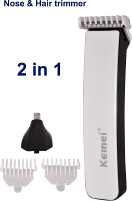 kemei Professional km-3560 white Trimmer For Men (white)