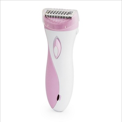 Kemei Body Groomer KM-3018 Shaver For Women (Pink, White)