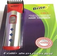 Brite Body Groomer BHT 530 Trimmer For Men (Red)