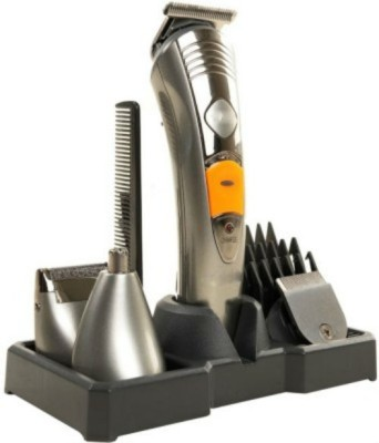 Shrih 7 in 1 Groming Kit SH - 0870 Trimmer For Men (Silver)