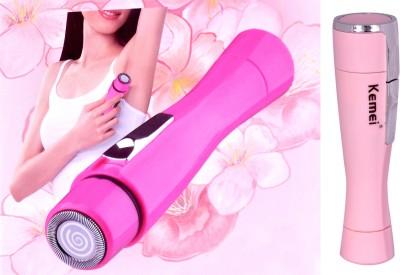 Kemei Professional KM-1012 Shaver For Women (Multicolor)