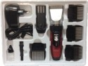 Nova Grooming Kit NHT 1025 Trimmer For Men - Red