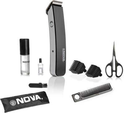 Nova Advance NHT 1047 BL Trimmer For Men (Black)