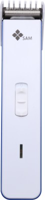SAM Shaver 0454 Blue Trimmer For Men (Blue)