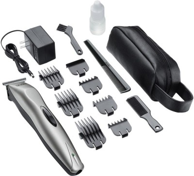 Andis BTF 14-Piece Rechargeable Grooming Kit Trimmer (Silver)