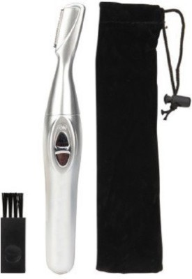 POSH OFFER Bi-Feather King Eye Brow Safe And Easy Hair Remover POFK0006 Trimmer For Women (Grey)