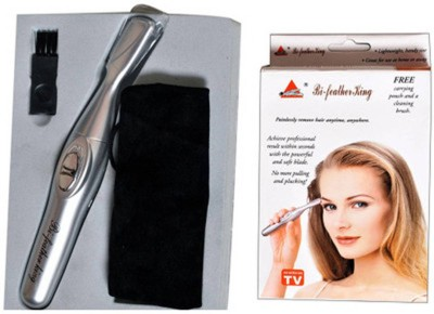 Bi Feather Body Glooming bf-001 Trimmer For Women, Men (Silver)