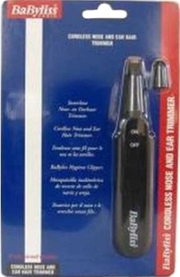 Babyliss Nose and Ear 7001E Ear, Nose & Eyebrow trimmer For Men, Women (Black)