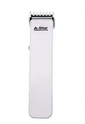 Astar Pro Grooming ast-001 Trimmer For Men (White)