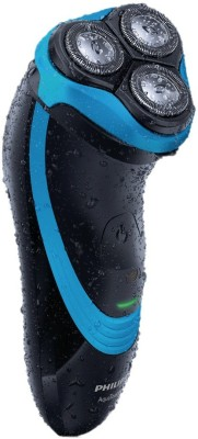 Philips Aqua Touch AT 750 Shaver For Men (Blue & Black)