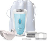 Philips Epilator BRE210/00 Shaver For Women (Blue/white)