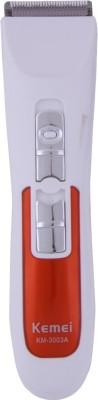 Kemei Professional Hair Clipper KM 3003A Trimmer For Men (White)