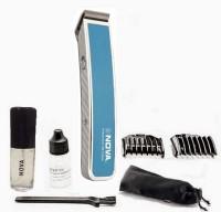 Nova Advanced Skin Friendly Precision NHT 1055 B Trimmer For Men (Blue)