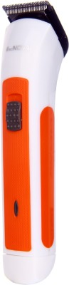 Mz Nova 2in1 Rechargeable NHC-3017 Trimmer For Men (Orange)