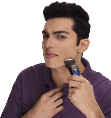 Philips Pro Skin Advanced QT4000 /15 Trimmer For Men (Black)