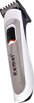 Kemei Professional KM 701B Trimmer For Men (White)