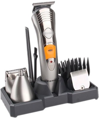 Kemei Grooming KIT 7 IN 1 KM-580 A Trimmer For Men (Multicolor)