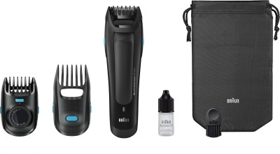 Braun Beard BT5050 Trimmer For Men (Black)