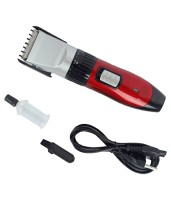 Maxed Professional Hair Blade MX-6019-Red Trimmer For Men (Red)