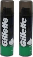 Gillette Shaving Foam - Menthol Pack of 2 392 g