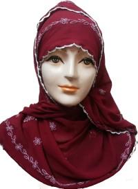 Sana creations Viscose Embroidered Women's Shawl