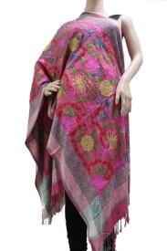 Matelco Viscose Embroidered Women's Shawl