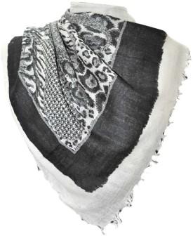 Elabore Wool Printed Shawl Wool Woven Women's Shawl