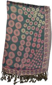 Shawls Of India Su Jaquard Viscose Self Design Women's Shawl