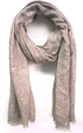 ScarfKing Polyester Self Design Women's Shawl