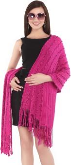 City Chic Polyester Self Design Women's Shawl - SWLEBGGJTPEYTAYT