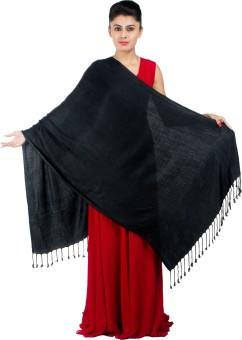 KeepSake Poly Cotton Self Design Women's Shawl - SWLEBH3GSFTZPFAR