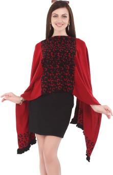 City Chic Polyester Self Design Women's Shawl - SWLEBGGK95V2HFCX