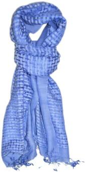 Elabore Silk Wool Basket Weave Shawl Silk Woven Women's Shawl