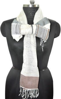 Elabore Cotton Wool Jacquard Shawl Cotton Woven Women's Shawl