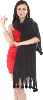 City Chic Polyester Self Design Women's Shawl - SWLEBGGJTRDCHHGT