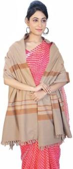 Indigocart Booti Design Cashmilon Shawl 155 Wool Self Design Women's Shawl