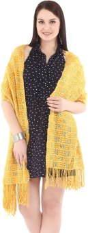 City Chic Polyester Self Design Women's Shawl - SWLEBGGJ5BCVCJXK