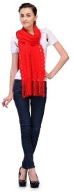 Fashion Cult Wool Self Design Women's Shawl