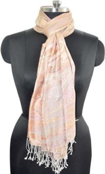 Elabore Silk Jamawar Shawl Wool Woven Women's Shawl