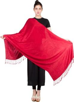 KeepSake Poly Cotton Self Design Women's Shawl - SWLEBH3GVEYGNNVV