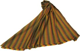 Sofias Wool Striped Women's Shawl