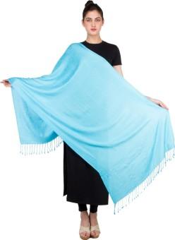 KeepSake Poly Cotton Self Design Women's Shawl