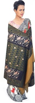 Indigocart Paisley Design Cashmilon Shawl 159 Wool Self Design Women's Shawl
