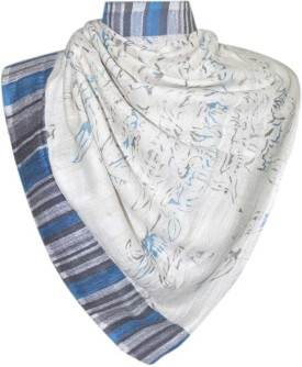 Elabore Cotton Silk Jacquard Shawl Cotton Woven Women's Shawl