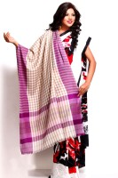 Aapno Rajasthan Pashmina Checkered Women's Shawl