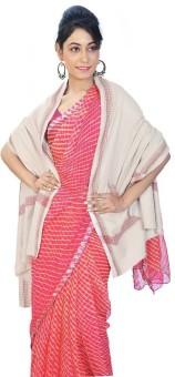 Indigocart Diamond Design Reversible Warm Woolen Shawl 150 Wool Self Design Women's Shawl