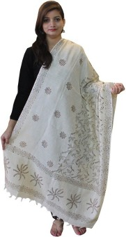 All About Art Brown Cotton Printed Women's Shawl - SWLE5JGTZ2FV3W9W