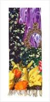Enigma Viscose Floral Women's Shawl