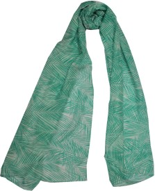 Shawls of India Poly Cotton Graphic Print Women's Shawl